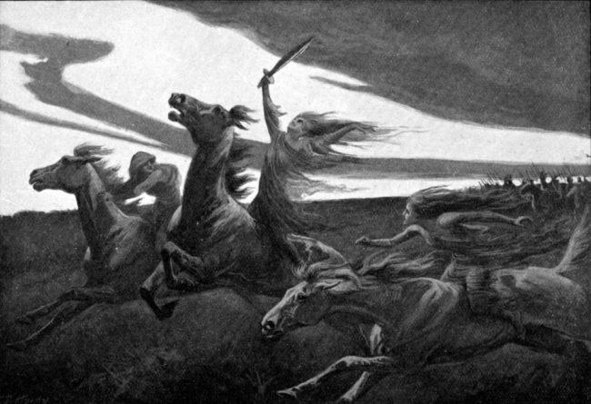 Валькирии у славян - кто это и в чем сила оберега Валькирии